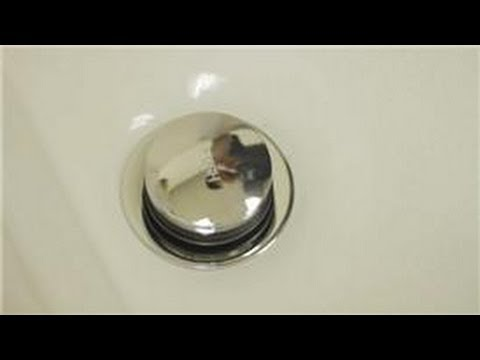 Bathroom Repair : How to Repair a Pop-Up Tub Drain Stopper