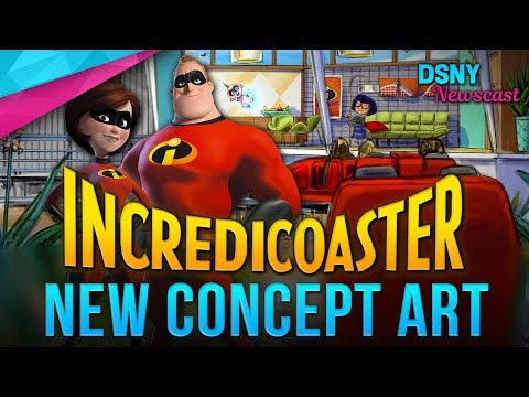 NEW Details Revealed for The INCREDICOASTER Coming To Pixar Pier at DCA - Disney News - 4/17/18