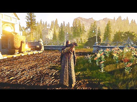 ASHES OF CREATION 76 Minutes of Gameplay Demo (New Open World MMORPG 2018) Developer Walkthrough