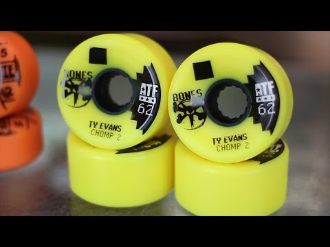 Bones ATF All-Terrain Formula Skateboard Wheels Review - Tactics.com