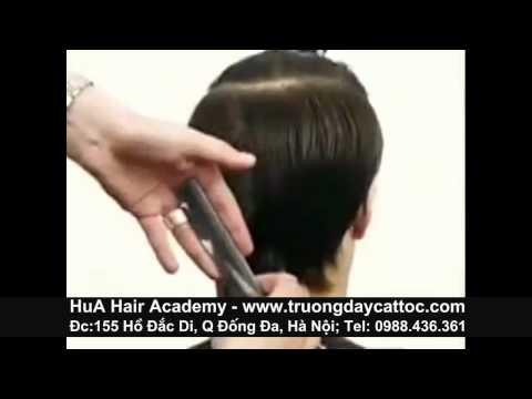 Dạy nghề cắt tóc nam cơ bản, chuyên nghiệp chuẩn Toni&Guy P1 -www.truongdaycattoc.com