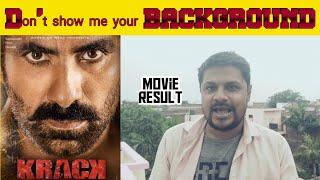 KRACK ll Ravi teja ll hindi dubbed movie REVIEW ll akhilogy
