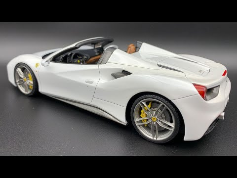 Alpha Model: Ferrari 488 Spider Full Build Step by Step