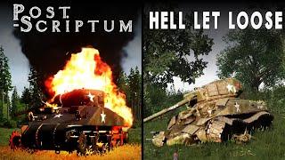 Hell Let Loose vs Post Scriptum [2020] | Direct Comparison
