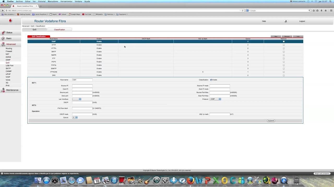 Manual AVANZADO del router Vodafone HG253s V2