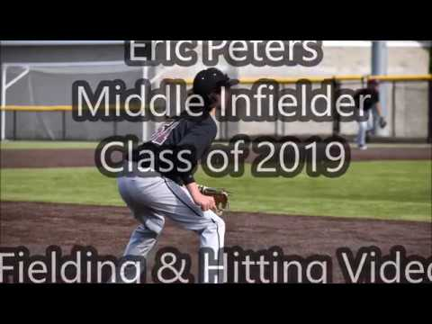 Eric Peters - 2019 Middle Infielder, Delaware Valley High School, PA