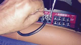 How to wire 4 channel amplifier gm A6704
