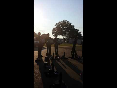 Grenada High School Drumline 2014
