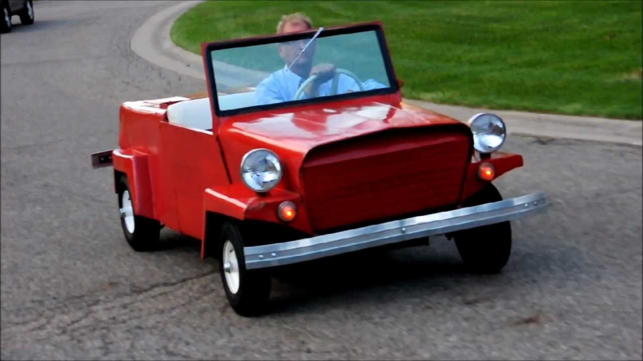 1960 King Midget Model III For Sale on ebay - YouTube