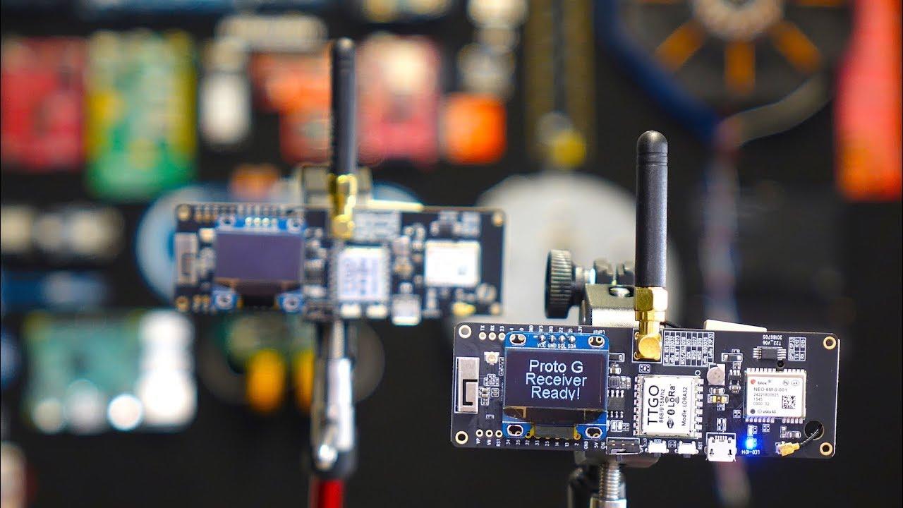 TTGO T-Beam // ESP32, GPS, LoRa & Bluetooth