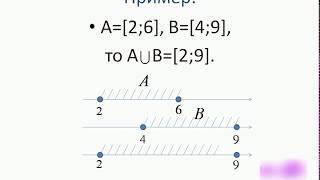 Объединение множеств.avi