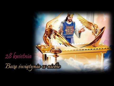 7. Boża świątynia w niebie - Golgota i co dalej?