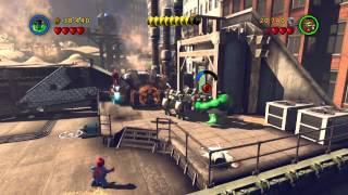 LEGO Marvel Super Heroes 1 серия ( очень смешно смотреть до конца)