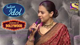 Kajol को Touch किया ये Rendition! | Indian Idol | Legends Of Bollywood