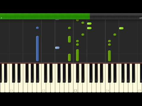 """How To Play """"I See Fire"""" - Synthesia (Soundtrack From The Hobbit)"""