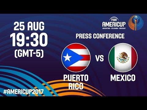 Puerto Rico v Mexico - Press Conference