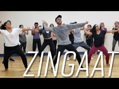 Zingaat Hindi | Dhadak | Dance | Choreography | Class | Ajay-Atul
