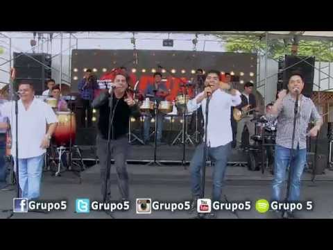 MIX CHULLA VIDA - GRUPO5 (EN VIVO HD)