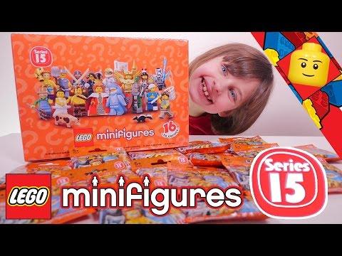 [LEGO SERIE 15] Série 15 complète Lego Minifigures - Studio Bubble Tea Lego full review
