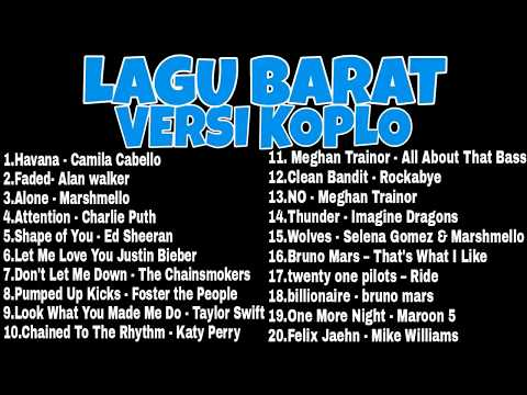 Lagu Pop Barat Versi dangdut