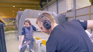 Glaston Jumbo Series in action at Jaakko-Tuote Oy