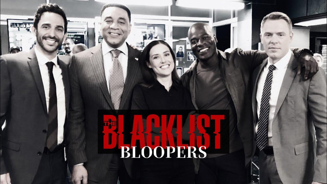 "Download ""THE BLACKLIST"" BLOOPERS"