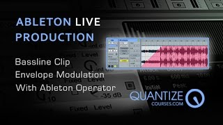 Ableton Live - Clip Envelope Automation For Bass Lines