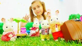 Игры для детей. Кролики Вилладж на пикнике