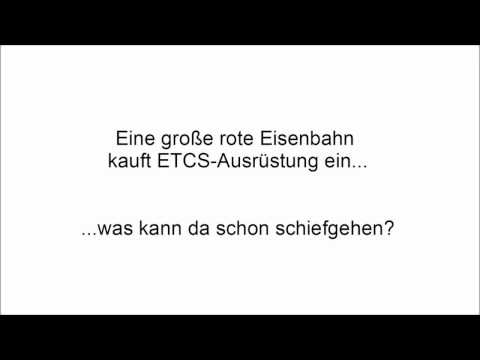 Eine große rote Eisenbahn kauft ETCS-Ausrüstung ein...