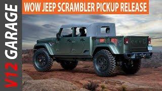 HOT NEWS 2018 Jeep Scrambler Pickup Rumors And MSRP