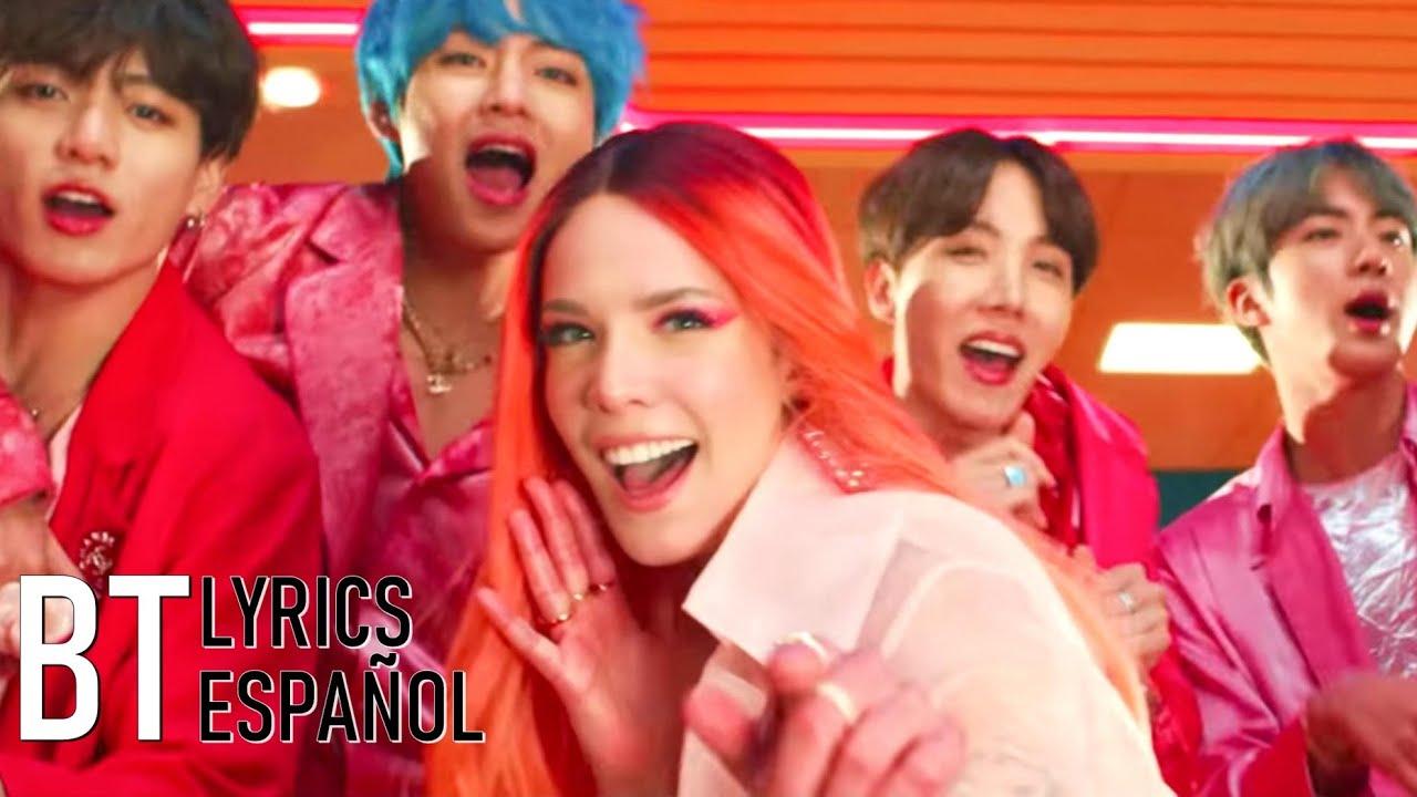 BTS - Boy With Luv ft. Halsey (Lyrics + Español) Video Official - YouTube