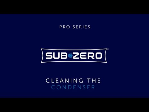 Sub-Zero PRO Series - How To Clean the Condenser
