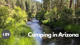 Camping Arizona | Thŗee Forks and Black River