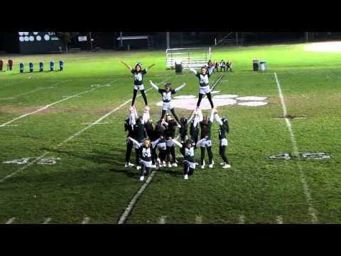 2011 Linwood Panthers-Homecoming Cheerleader Performance