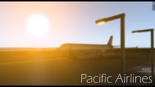 ROBLOX | Working Aboard Pacific Airlines.
