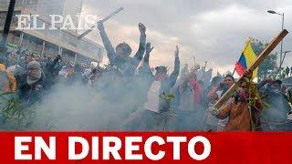 DIRECTO ECUADOR | Las PROTESTAS se agudizan antes de la gran movilización contra LENÍN MORENO