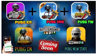 PUBG MOBILE INDIA NEWS🔥 PUBG NEW STATE OFFICIALLY | PUBG KR, VNG, TW BANNED | KARAKIN MAP GAMEPLAY