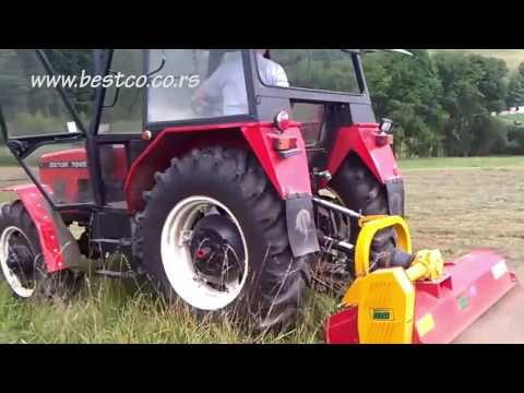 Zetor 7245 + Ino Brezice Elite L 190 - Best & co vrbas