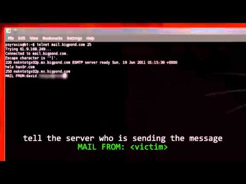 Email Spoofing Live Tutorial