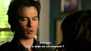 """Vampire Diaries 6x12 Elena et Damon VOSTFR """" On ne peut pas reprendre là où on s'est arrêté"""