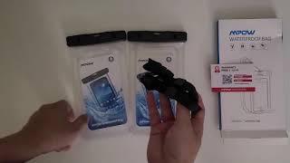 언박싱 핸드폰 방수 케이스 | Universal Wat…