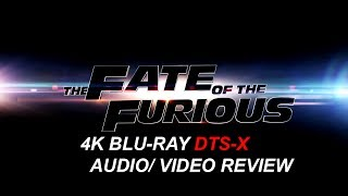 (Food & Review) The Fate Of The Furious 4K Bluray DTS-X, Dolby Vision Review