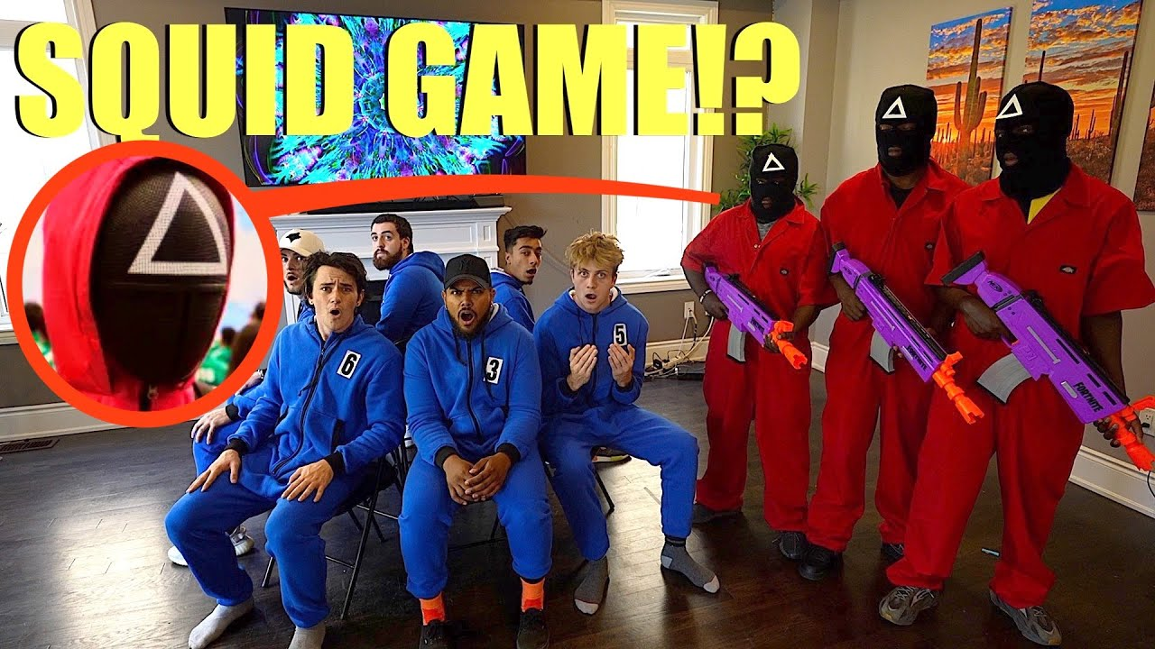 Download when you see the Squid Game Guards playing Musical Chairs RUN!! (They will make you Play)