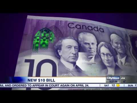 Business Report: Bank of Canada announces limited edition $10 bill