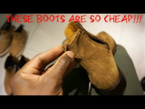 THESE BOOTS ARE SO CHEAP!!!