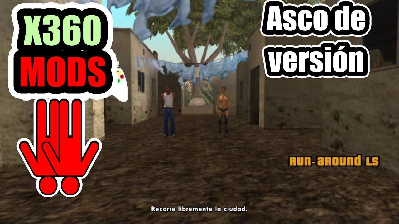 Forzando el modo 2 jugadores en Xbox 360 - GTA San Andreas