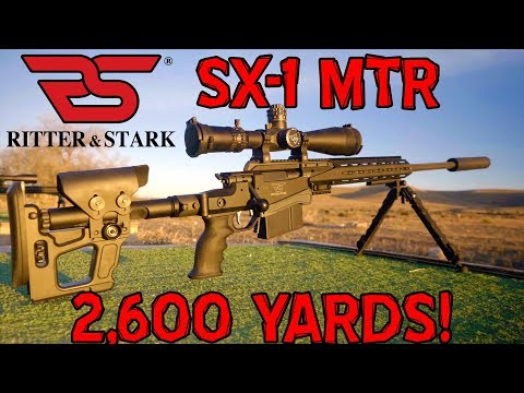 2,600 Yards With A Factory Ritter & Stark SX-1 in .338 Lapua Magnum!