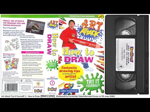 Art Attack - How to Draw [VHS] (2000)