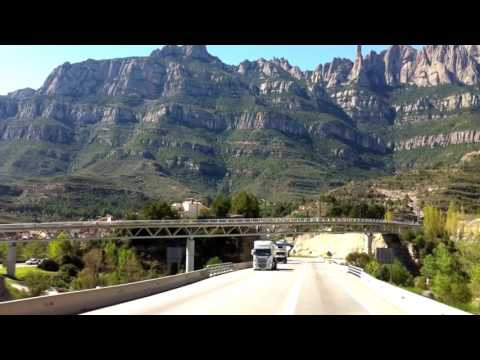 On the road with Trucking Girl part 3 - Montserrat ep.70