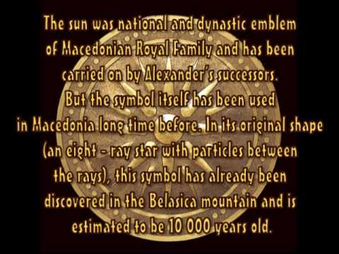 Macedonian symbol the SUN Macedonia culture,history,civilization,land of the sun